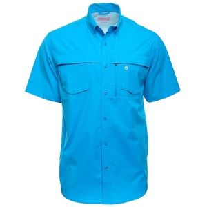 Coleman Adventure Shirt Malibu Blue